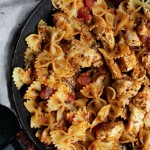 Chicken Bruschetta Pasta | www.diethood.com | #shop #kraftrecipemakers