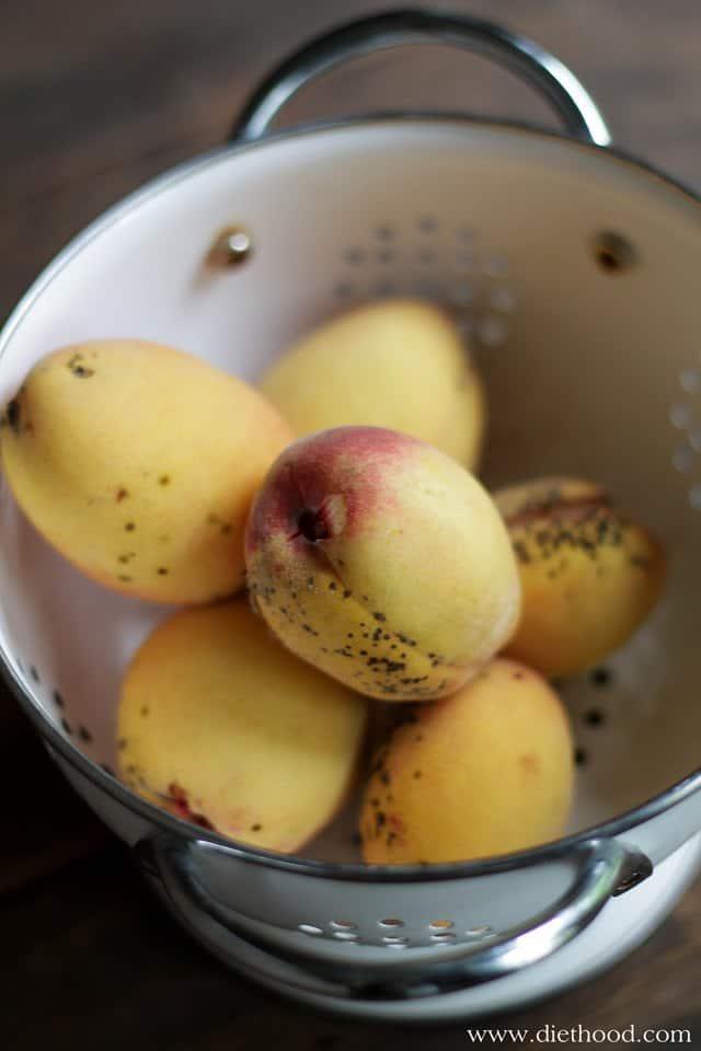 Peaches via Diethood