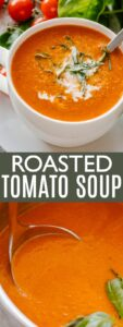 Roasted Tomato Soup Pin Image