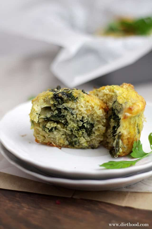 Quiche Quinoa Muffins Diethood Quinoa Quiche Muffins with Spinach and Cheese {Giveaway}