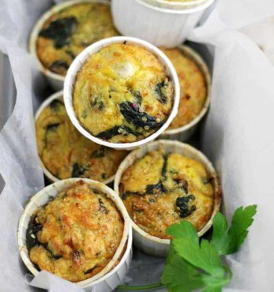 Quiche Muffins with Quinoa