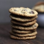 Oatmeal Chocolate Covered Raisin Cookies | www.diethood.com | Soft and chewy oatmeal cookies packed with chocolate-covered raisins. | #cookies