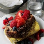 Banana Bread Stuffed French Toast