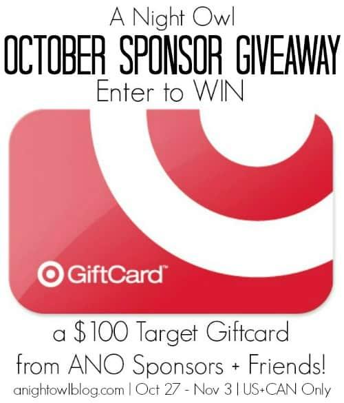 October Recipes Recap + $100 Target Gift Card Giveaway | www.diethood.com