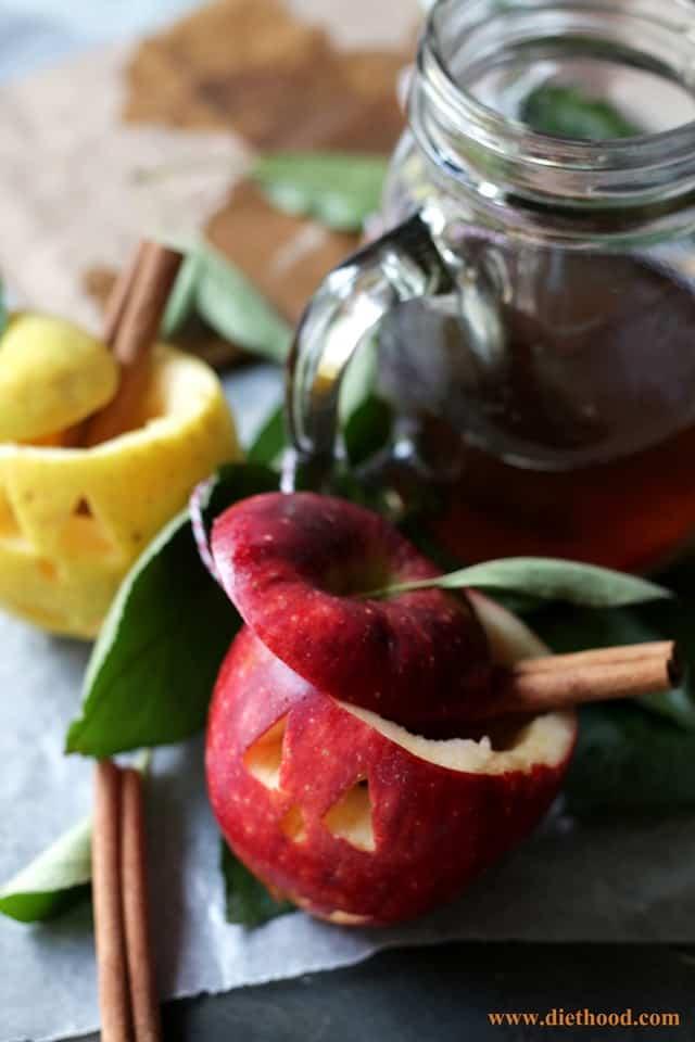 Apple Cups Diethood Spiked Apple Cider