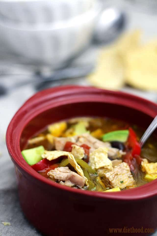 Chicken Soup Diethood Chicken Tortilla Soup