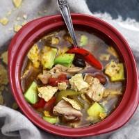 Chicken Tortilla Soup   www.diethood.com