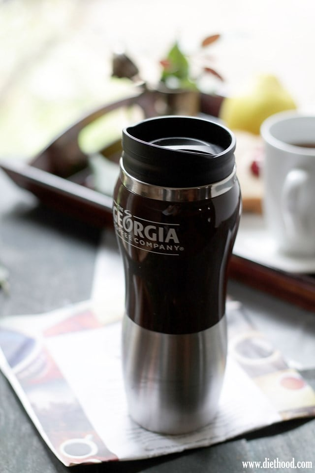 My Morning Cup with Georgia Coffee | www.diethood.com