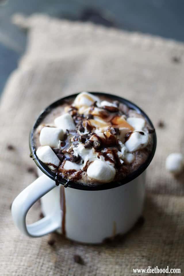 Hot Chocolate Diethood Authentic Irish Coffee