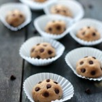 Peanut Butter Chocolate Chip Cookie Dough Balls + Giveaway