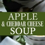 Apple and Cheese Soup photo collage