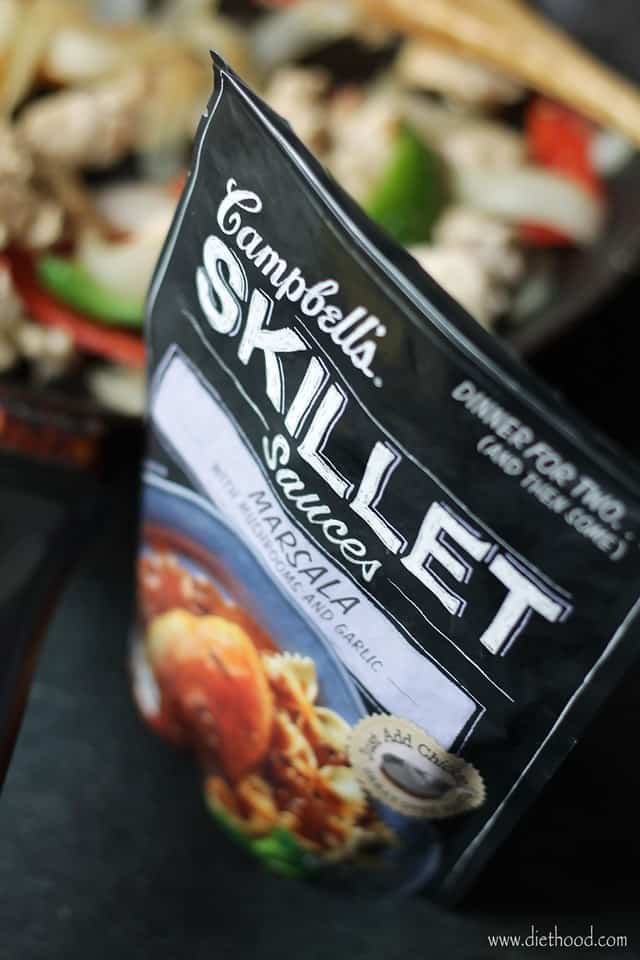 Campbells Skillet Sauces Diethood Sweet Korean BBQ Beef Tacos #CampbellSauces