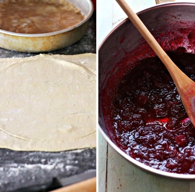 Cranberry Tart Diethood Cranberry Upside Down Puff Pastry Tart