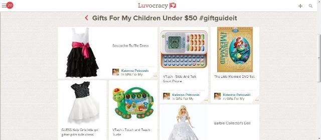 Christmas Gifting with Luvocracy   www.diethood.com