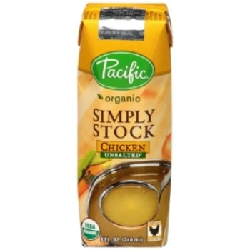 Pacific brand Chicken Simply Stock in Tetra Pak