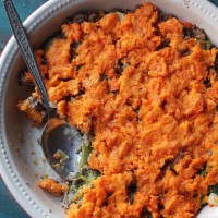 Sweet Potato Shepherd's Pie + Giveaway | www.diethood.com