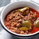 Stuffed Pepper Soup | www.diethood.com