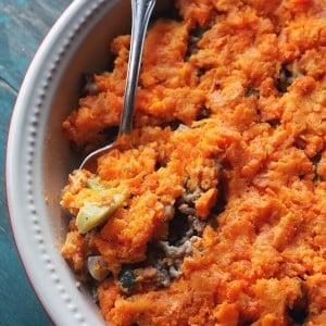 Sweet Potato Shepherd's Pie + Giveaway