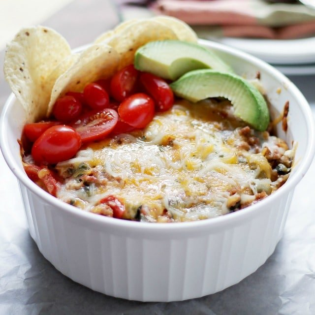 Tacos Casserole Diethood Recipe Feta Cheese Egg Casserole