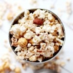 White Chocolate Brown Sugar-Cinnamon Kettle Corn | www.diethood.com