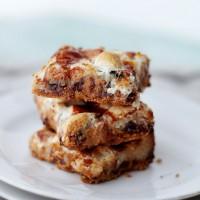 Peanut Butter Marshmallow Magic Bars   www.diethood.com