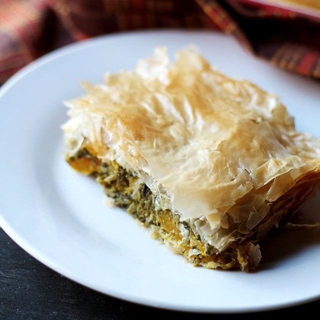 Butternut Squash and Spinach Pie | www.diethood.com