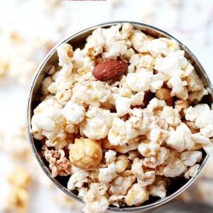 White Chocolate Brown Sugar-Cinnamon Kettle Corn