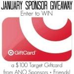 January Recipes Recap + $100 Target Gift Card Giveaway!