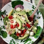 Avocado and Feta Cheese Orzo Salad | www.diethood.com