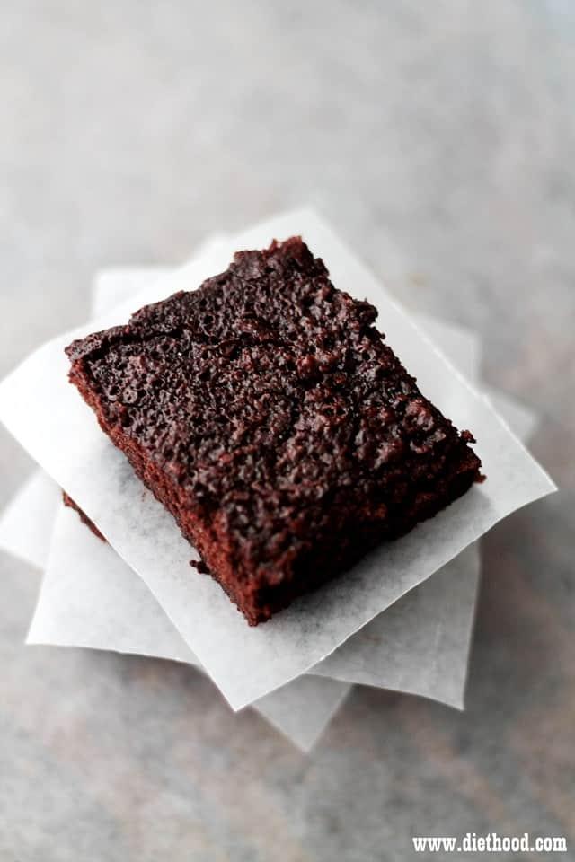 Brownies Diethood Skinny Brownies