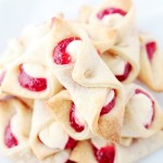 Strawberry Cream Cheese Pastries | www,diethood.com | Soft, flaky and delicious cream cheese dough filled with a sweet cream cheese mixture and strawberry jam.