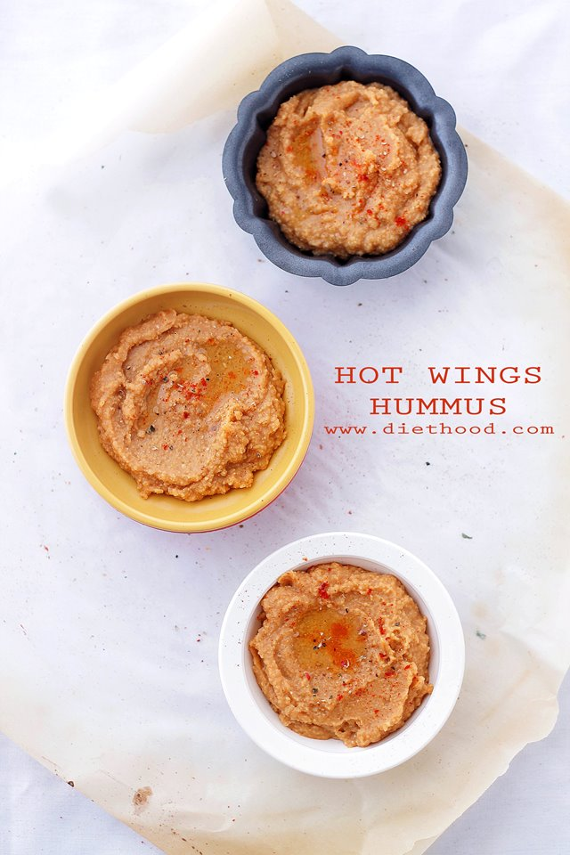 Hot Wings Hummus Diethood Hot Wings Hummus