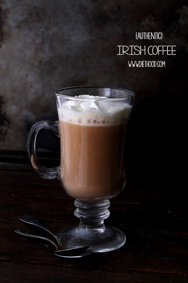 Irish Coffee Diethood Authentic Irish Coffee