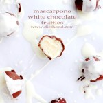 Mascarpone White Chocolate Truffles