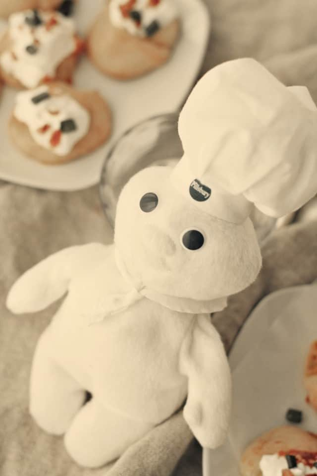 Pillsbury Dough Boy Loaded Potato Pinwheels