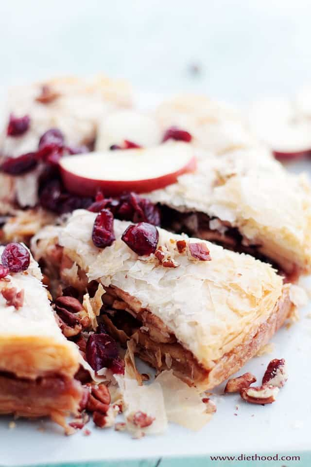 Strudel Diethood Apple Strudel Cake