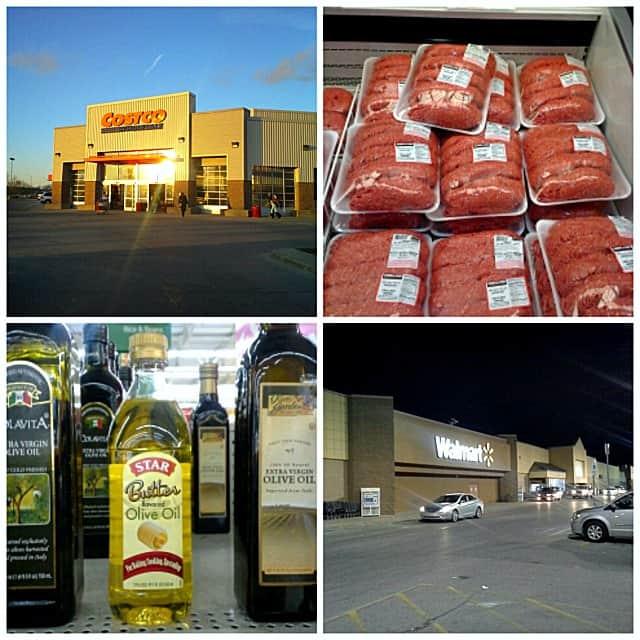Costco and Walmart | www.diethood.com