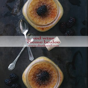 Red Wine Creme Brulee + KitchenAid Stand Mixer Giveaway!