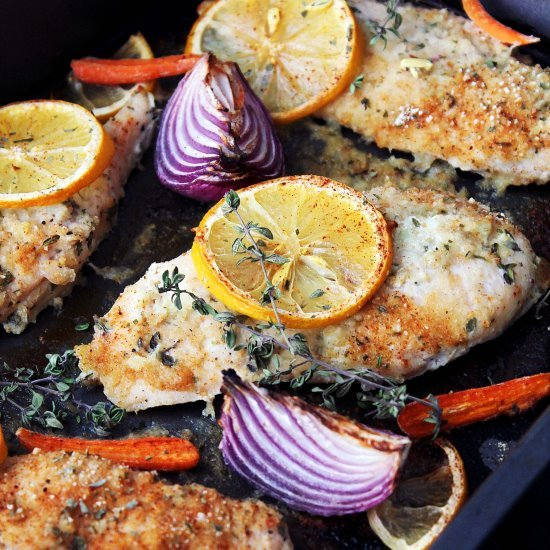 Garlic-Yogurt Baked Chicken Breast Recipe
