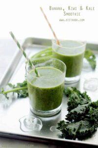 Banana, Kiwi & Kale Smoothie Recipe | Easy & Delicious Kale Smoothie