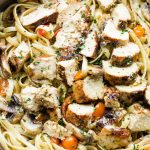 Lemon Chicken Fettuccine Recipe