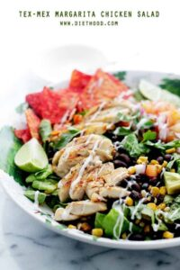 Tex-Mex Margarita Chicken Salad Recipe | Diethood