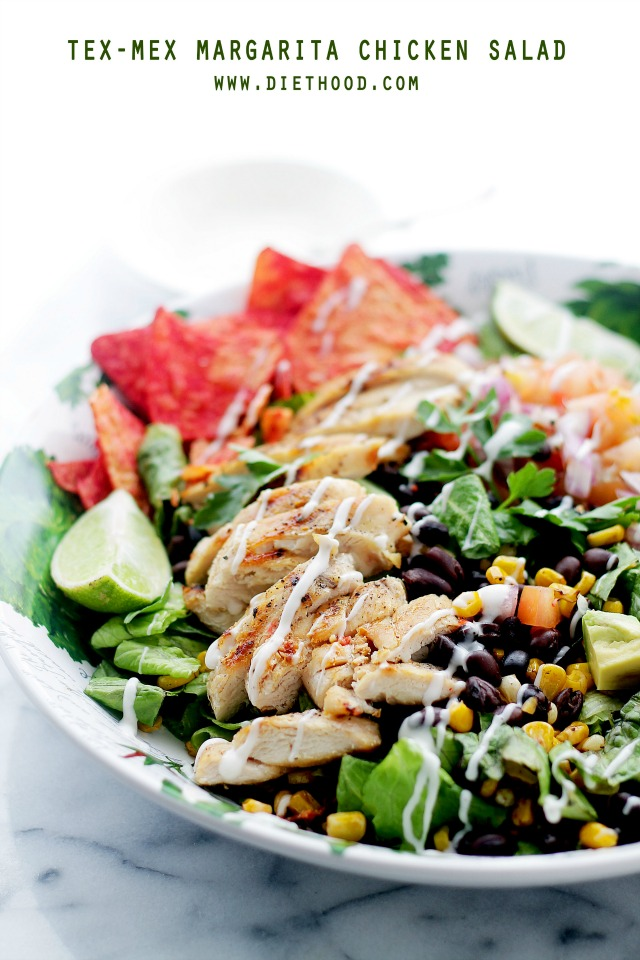 Margarita Tex Mex Chicken Salad Diethood Tex Mex Margarita Chicken Salad + iPad Air Giveaway!