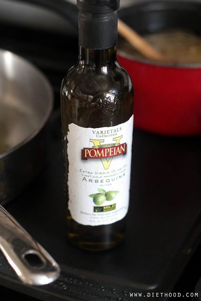Pompeian Diethood Lemon Chicken Fettuccine