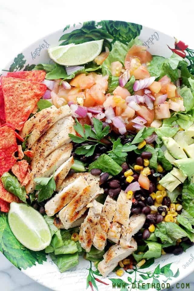 Tex Mex Chicken Diethood Tex Mex Margarita Chicken Salad + iPad Air Giveaway!