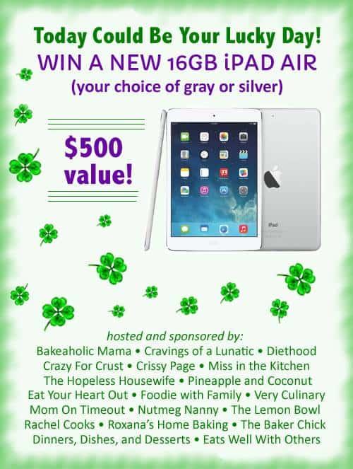 iPad Air Giveaway | www.diethood.com