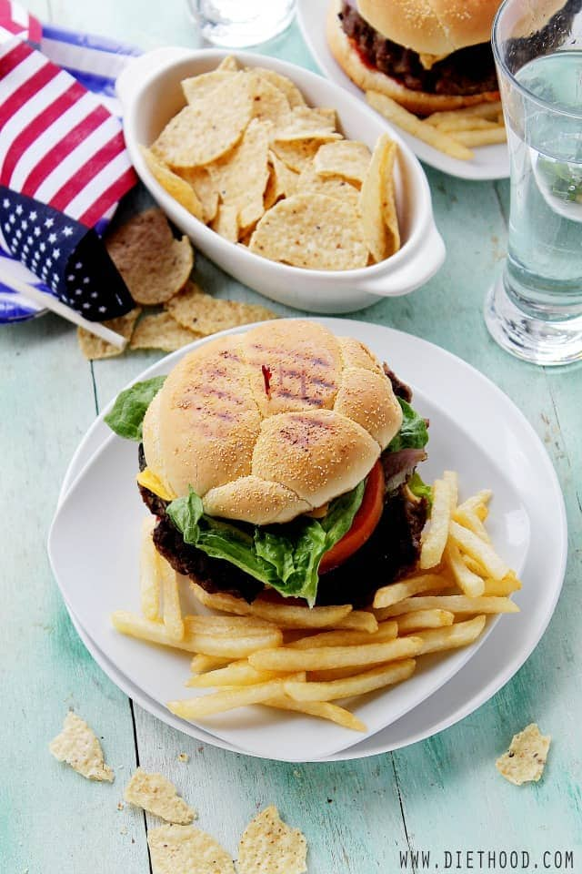 American Cheeseburger at Diethood