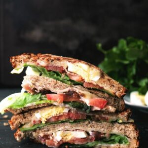 BLT-With-Egg Grilled Cheese Sandwich