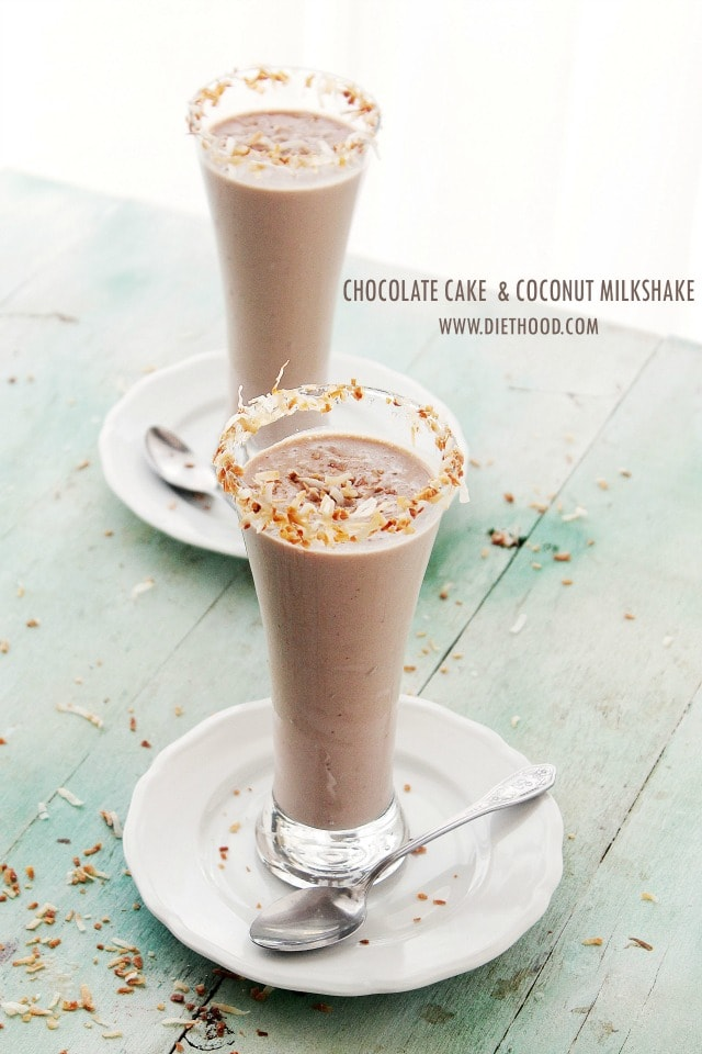 Chocolate Cake and Coconut Milk Shake – you can have your cake, and ...