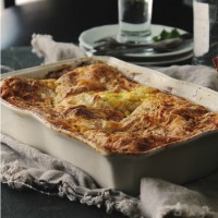 Feta Cheese & Egg Casserole Diethood Recipe | www.diethood.com